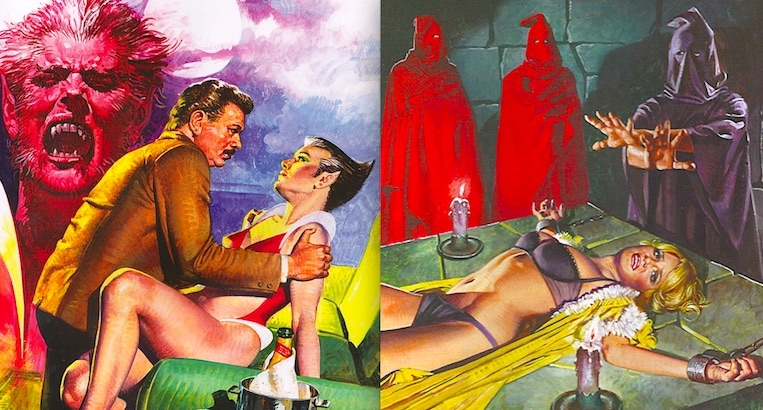 Sex and Horror: The lurid erotic art of Emanuele Taglietti