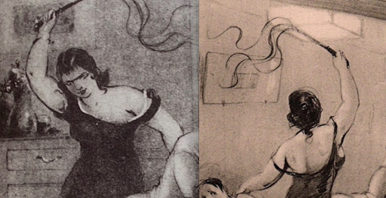 Women on Top: Sadomasochistic artwork of the mysterious 'Jim Black'