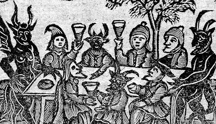 Woodcuts of Witches, Wizards and Devils