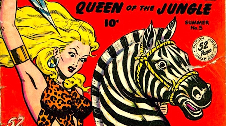 When White Chicks Ruled the Jungle: The comicbook women who rivaled Tarzan