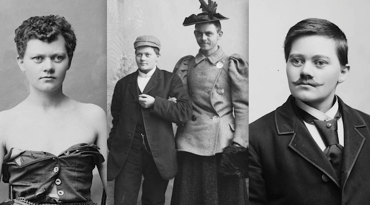 The 'private' photographs of Marie Høeg and Bolette Berg: Questioning gender roles circa 1900