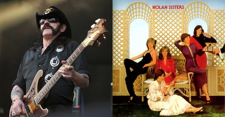 That time Lemmy recorded a single with the (not so) 'squeaky clean' Nolan Sisters