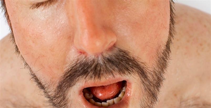 Cum Face, the hyperrealistic sculpture