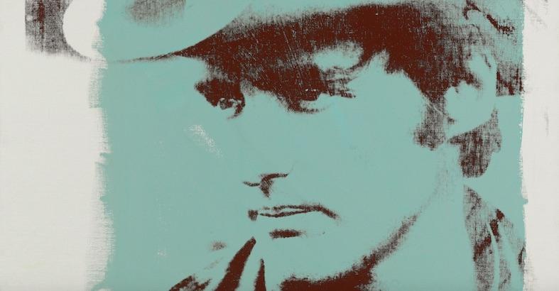Dennis Hopper gives a tour of his art collection