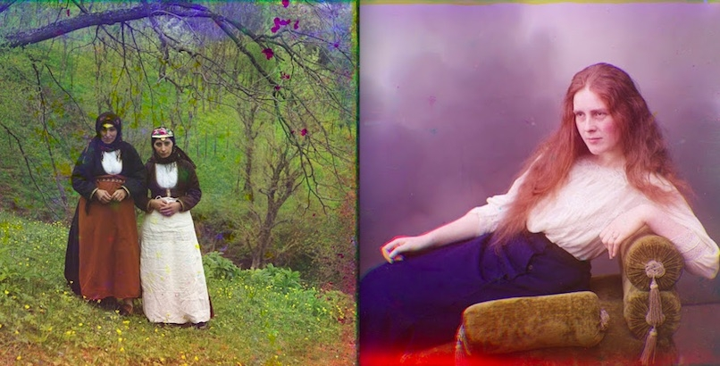 Stunning color photographs of the Women of Tsarist Russia 1909-15