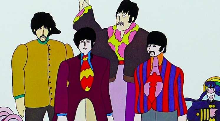 The psychedelic beauty of The Beatles' 'Yellow Submarine' trading cards