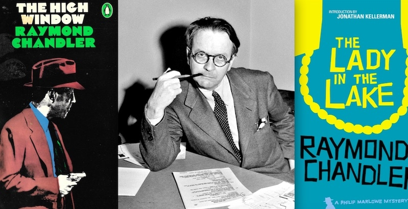 Iconic Raymond Chandler covers: The Complete Philip Marlowe Novels