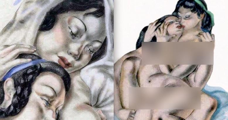The sensuous erotic art of pioneering artist Suzanne Ballivet (NSFW)