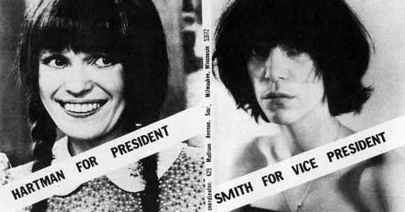 That time Mary Hartman and Patti Smith unwittingly formed a fantasy presidential ticket, 1976