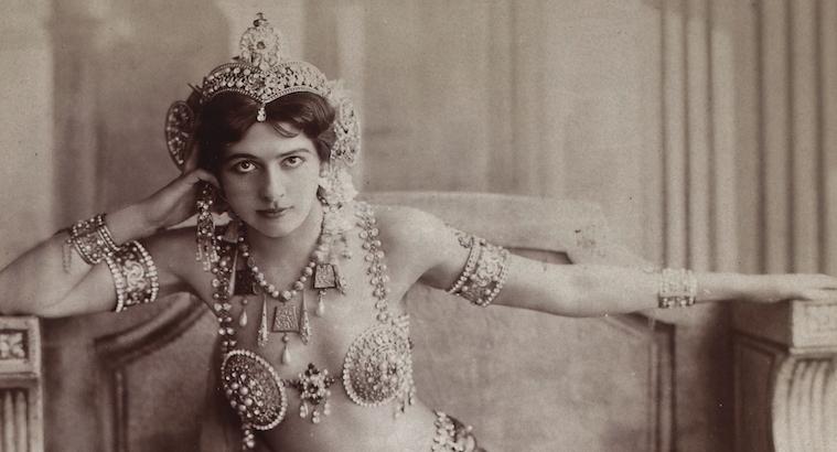 Mata Hari: Sexy photographs of the original femme fatale