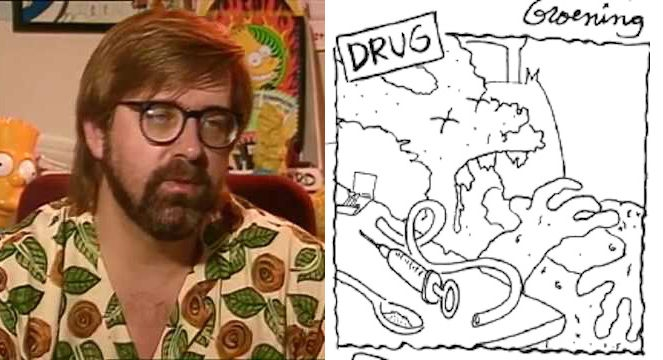 Watch 'Drugs: Killers and Dillers,' Matt Groening's amusing anti-drug parody from 1972
