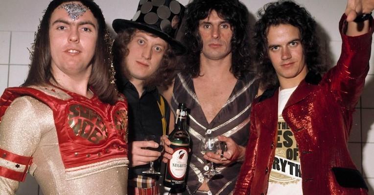 'It's Slade': Glam rock's fun-loving rowdies