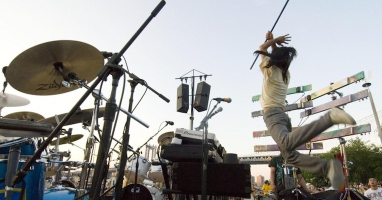 Boredoms collect 77 drummers in Brooklyn for the ultimate mind-blowing drum circle