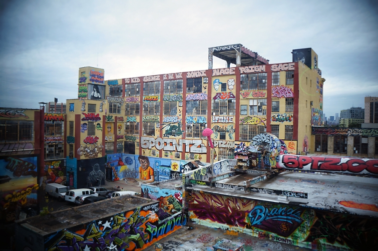 NYC's former graffiti mecca is being transformed into dumb street art-themed luxury apartments