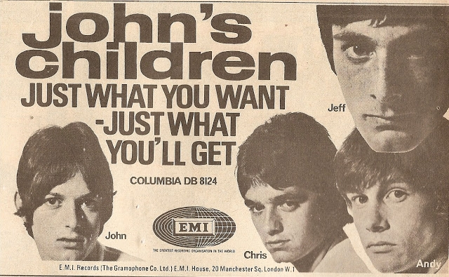 Orgasm: Dig the wild 60s pop art glam rock proto-punk of John's Children
