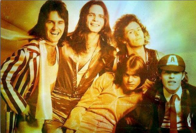 Glamtastic footage of AC/DC *before* Bon Scott