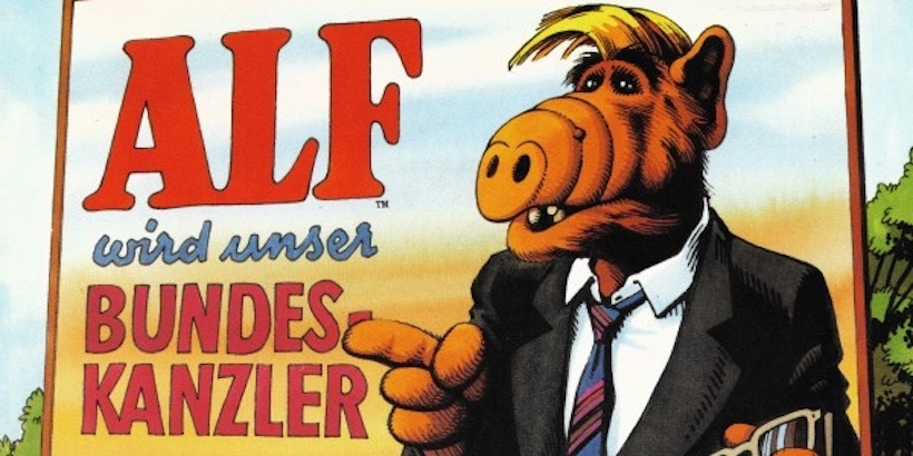 ALF made a German hip-hop single: 'ALF Will Be Our Chancellor'