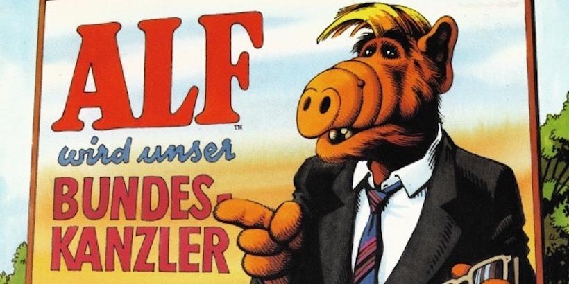 ALF made a German hip-hop single: 'ALF Will Be Our Chancellor'