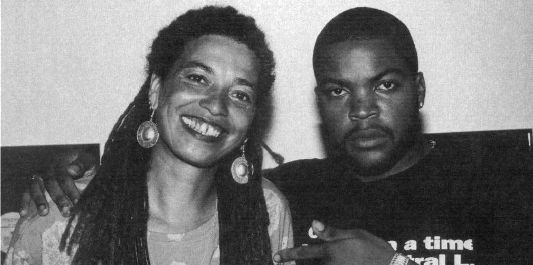 'Nappy Happy': Radical thinker Angela Davis interviews Ice Cube, 1991