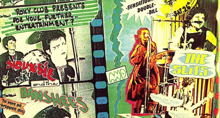 Punk posters from London's legendary Roxy club