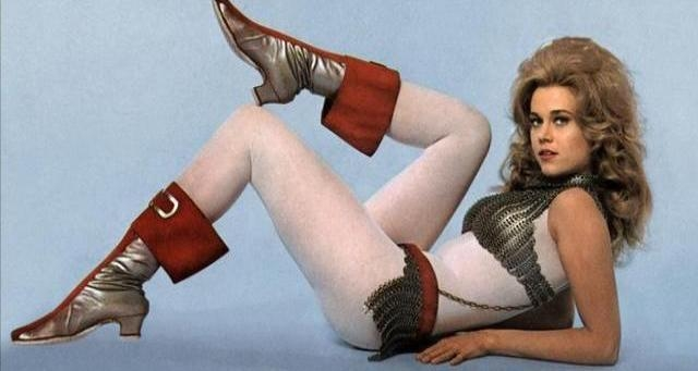 'Barbarella Does Her Thing': Behind the scenes of the sexiest sci-fi movie ever made