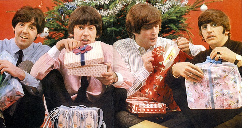 The strange tale of the unauthorized albums of the Beatles Christmas recordings