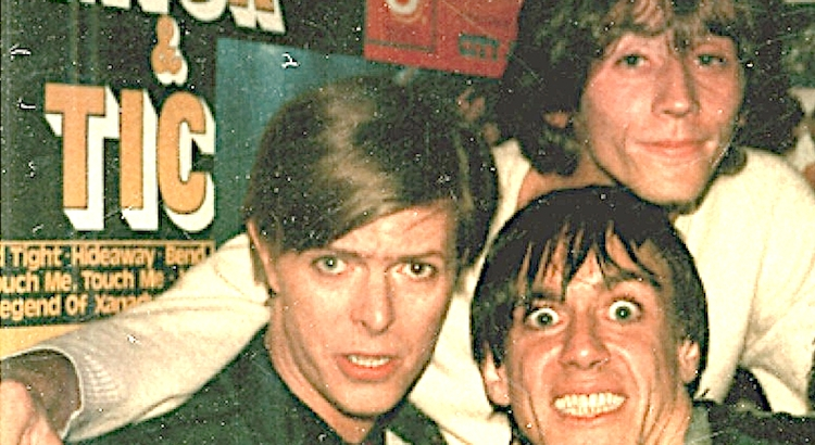 A night spent hanging out with David Bowie and Iggy Pop: Ivan Kral tells us what it was like