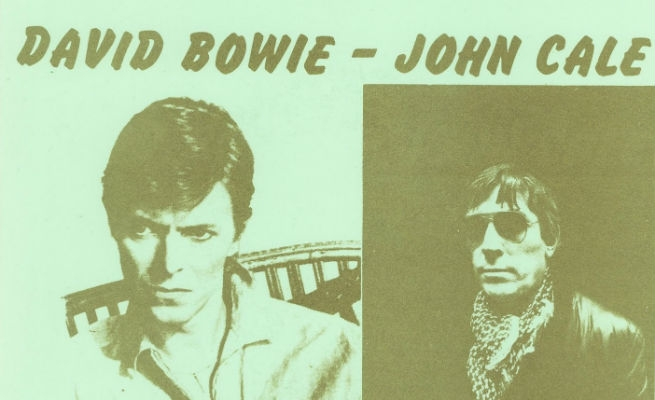 That time David Bowie & John Cale got fucked up and jammed, 1978