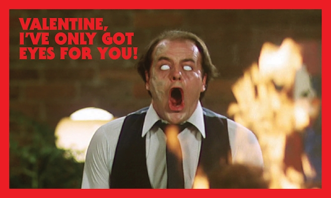 Valentine's Day cards inspired by the master of horror, David Cronenberg