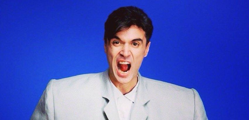 'Who ate my pie?' David Byrne plays boorish, mustachioed, pie-loving drunk on PBS sitcom