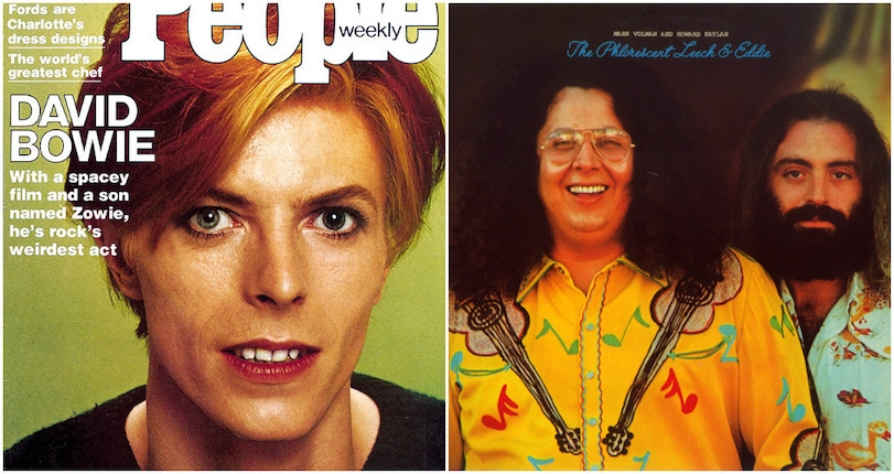 David Bowie wanted Flo & Eddie of the Turtles to star with him in a film he wrote
