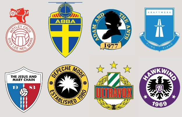 What if every band had its own British football logo?