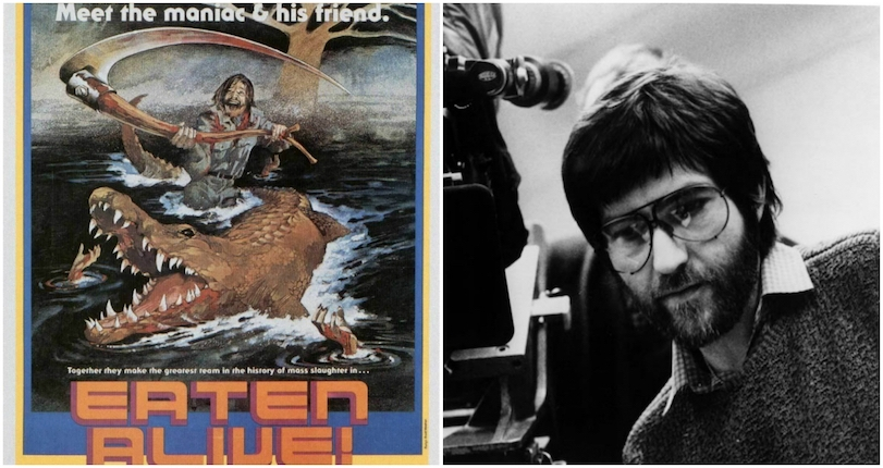 'Eaten Alive': Tobe Hooper's 1976 horror film about a man-eating crocodile was banned in the UK
