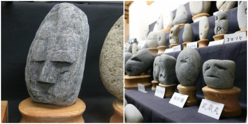 Japan's fantastic museum of rocks that look like faces