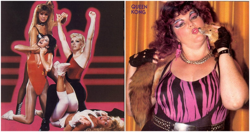 Big hair, big muscles, totally 80s: Glorious images & footage of the lady wrestlers of 'GLOW'