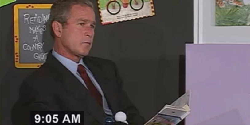 'Qaeda, Quality, Question, Quickly, Quickly, Quiet': Learning the alphabet with George W. Bush