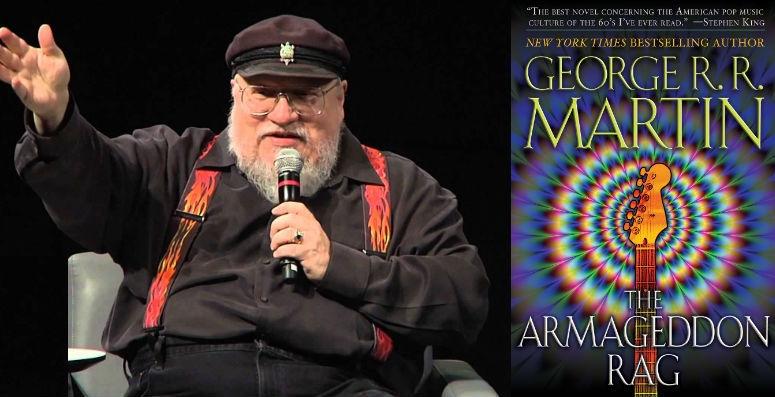'The Armageddon Rag,' George R.R. Martin's rock-and-roll occult fantasy novel