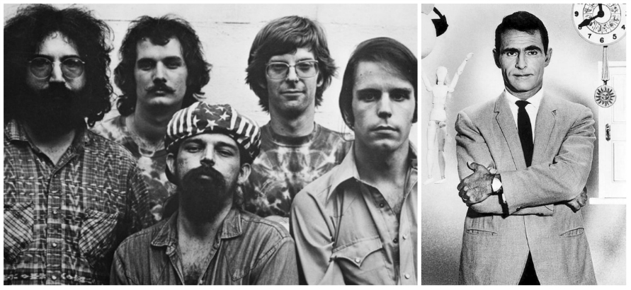 The Grateful Dead's theme for the 1985 reboot of 'The Twilight Zone'