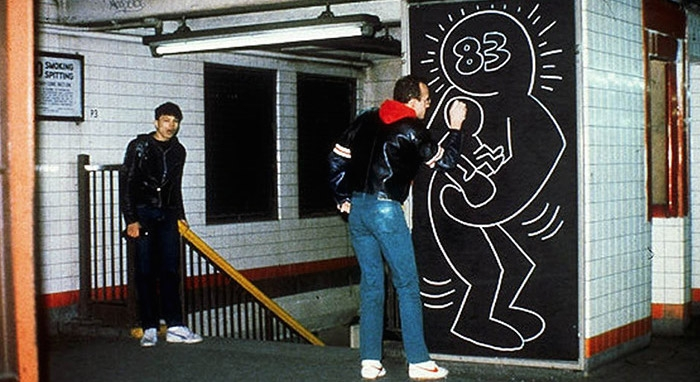 Watch Keith Haring get arrested on national TV, 1982