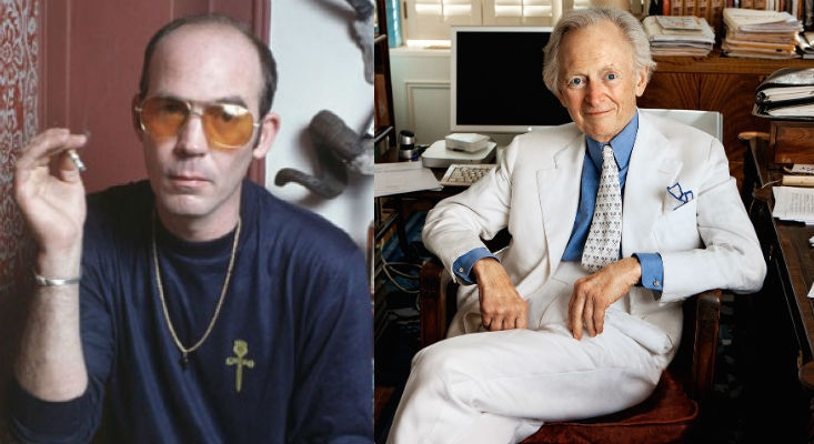 'You thieving pile of albino warts': Hunter S. Thompson tears Tom Wolfe a new asshole