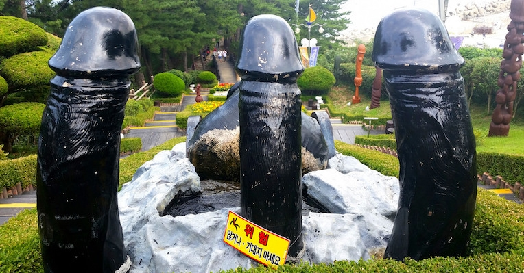 Penises aplenty: The South Korean park with enough dicks for everyone