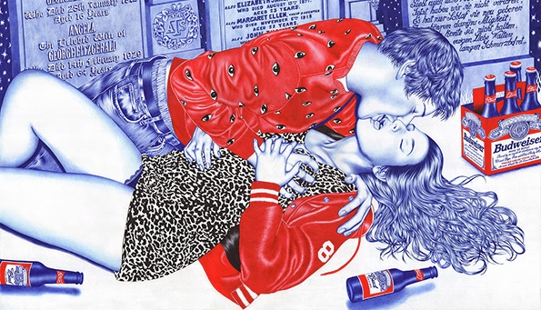 Your fun wasted teenage years rendered in awesome ballpoint pen drawings