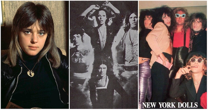 Who was this amazing 'Suzi Quatro meets the New York Dolls' proto-punk mystery band?