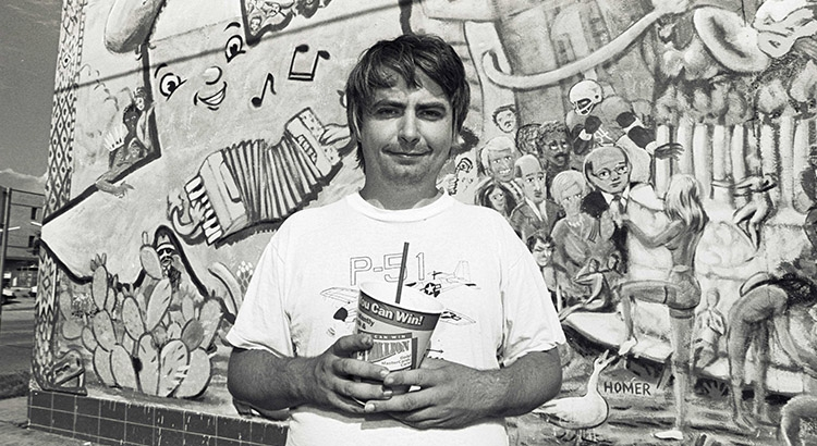 'Woodshock '85': Richard Linklater's first short film featuring a young Daniel Johnston