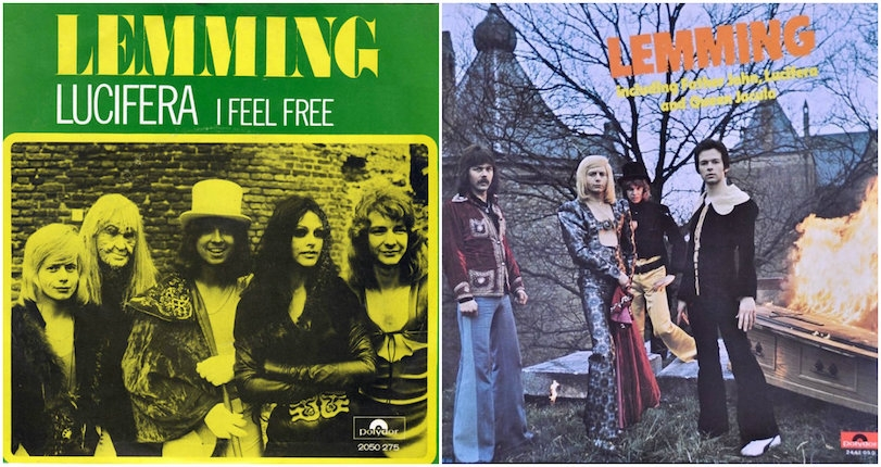 Alice Cooper meets Sweet in the nightmarish glam rock of '70s Dutch band, Lemming