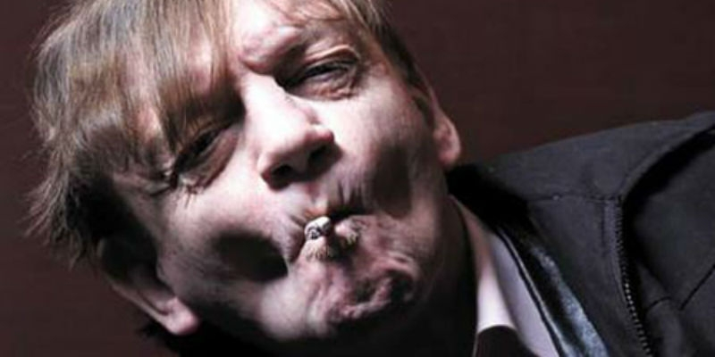 The Fall's Mark E. Smith was on the TV news again last night. It didn't go very well.