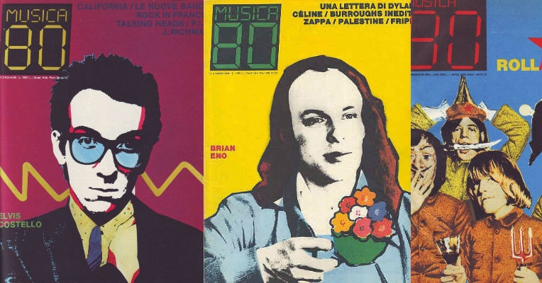 'Musica 80': Impressive Italian rock magazine from the 'new wave' era