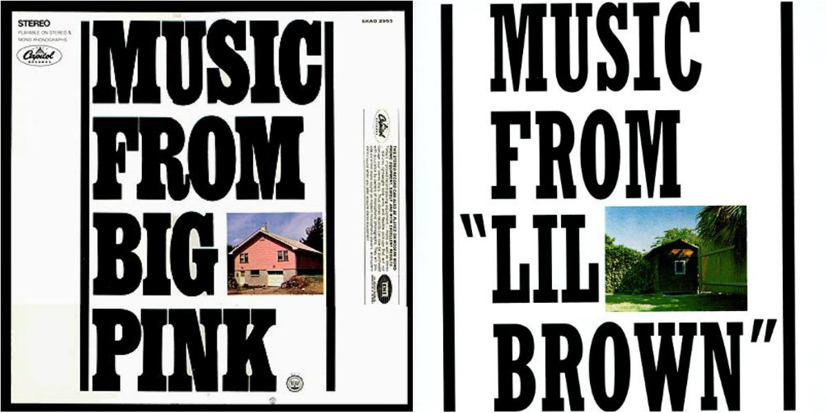 """We all know 'Music from Big Pink' by The Band. What about 'Music from """"Lil Brown""""' by Africa?"""