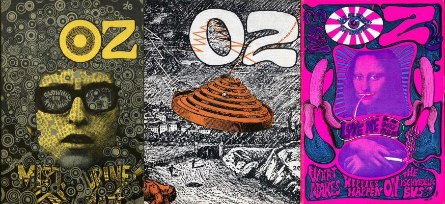 Every issue of OZ, London's legendary psychedelic newspaper, is available online