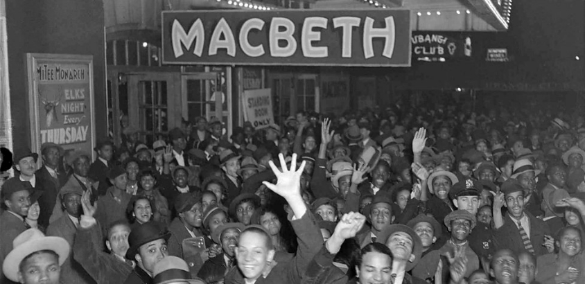 Orson Welles' 'Voodoo' Macbeth on film